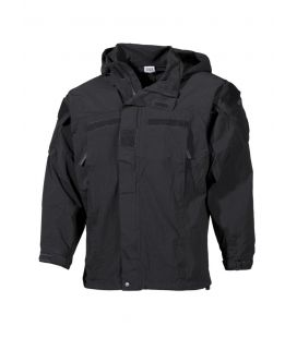 Veste Softshell militaire US noir GEN III Level 5 PCU