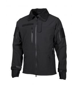 "Veste soft shell, noir, ""High Defence"" - Surplus militaire"