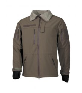 "Veste soft shell, vert, ""High Defence"" - Surplus militaire"