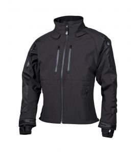 "Veste soft shell, ""Protect"", noir - Surplus militaire"