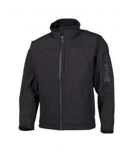 "Veste soft shell, ""Flying"", noir - Surplus militaire"