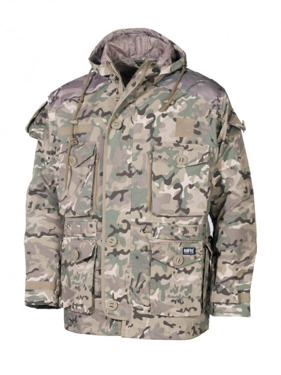 "Veste commando, ""Smock"", Rip Stop, operation camou - Surplus militaire"