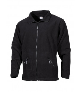 "Veste polaire, ""Arber"", noir, ""Full Zip"" - Surplus militaire"