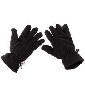 "Gants polaires, ""Thinsulate"" noir - Surplus militaire"