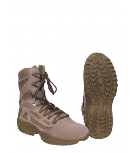 "Chaussure tactique ""Tactical"", fourrés, cuir, coyote tan"