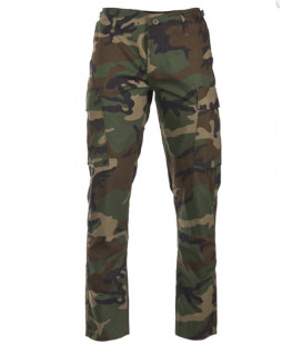 Treillis US BDU RS Slim Fit Woodland homme