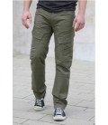 Pantalon Adven Slim Fit Kaki, Brandit - Surplus militaire