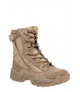 Chaussures militaire Tactiques 2 zip coyote homme