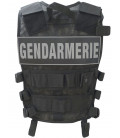 Gilet force intervention noir - Surplus militaire