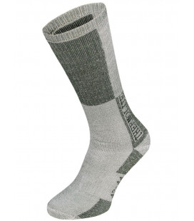 Chaussettes d'hiver Thermolite grise