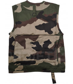 TAILLE 6 ANS PERCUSSION 2907 TEE SHIRT ENFANT DE CHASSE CAMOUFLAGE