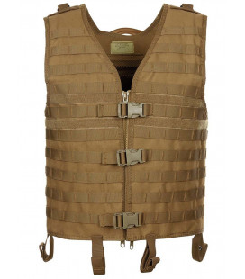 "Gilet tactique ""Molle light"" Coyote Tan"