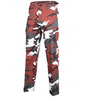 Pantalon Treillis US BDU type Rangers Red Camo
