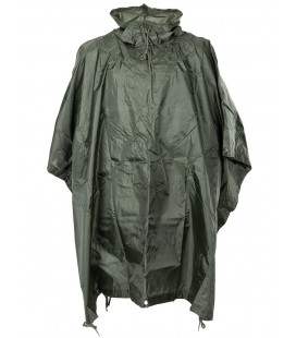 US Poncho, Rip stop, vert, taille: 144 x 223 cm