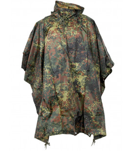 BW Poncho, Rip stop,BW camou, taille: 144 x 223 cm - Surplus militaire