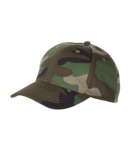 Casquette militaire US camouflage woodland Taille-réglable