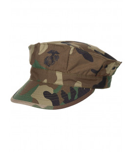 Casquette USMC marine US RipStop camouflage woodland