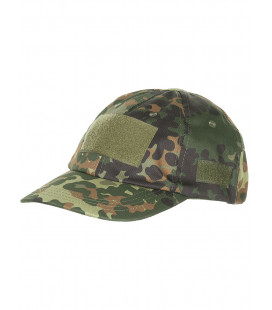 Casquette militaire d'operation velcro camouflage BW