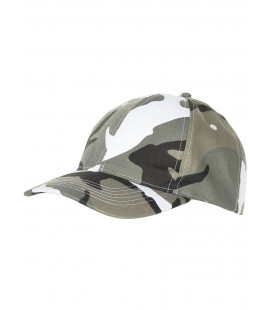 Casquette militaire camouflage urbain gris coupe Baseball