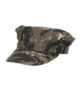Casquette militaire US marine Rip Stop camouflafe bande tigre renfort