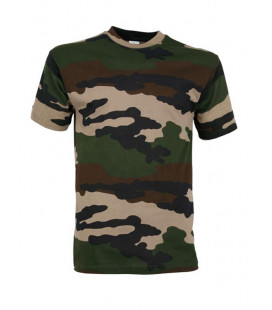 T-shirt militaire Camouflage CE