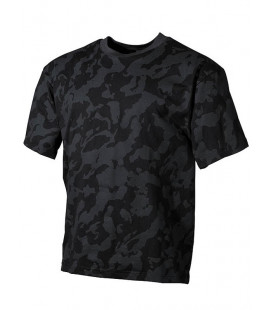 T-shirt Camouflage nuit militaire
