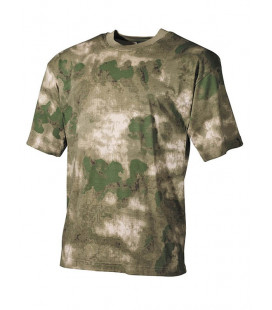 T-shirt camouflage HDT Vert militaire