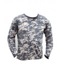 T-shirt manches longues camouflage Digital AT - Surplus militaire