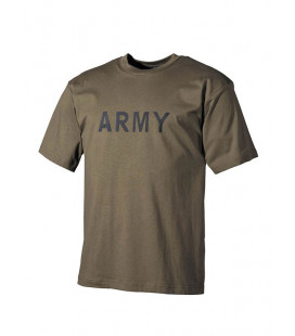"T-shirt kaki inscription ""Army"" - Surplus militaire"