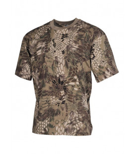 T-shirt militaire camouflage Snake FG