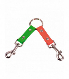 Collier coupleur 150 mm orange vert Orange / Vert