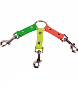 Collier tripleur 150 mm orange vert Orange / Vert