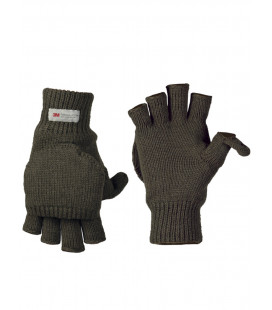 Gants de tir militaire rabattables Thinsulate