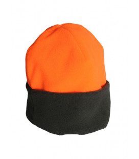 Bonnet Polaire orange fluo