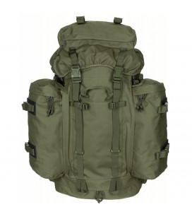 Sac à dos militaire BW Mountain olive, w/2 80L + 20L
