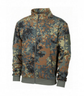 Veste militaire sweat tactical camouflage BW Camouflage - BW Tropical