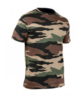 T-shirt TOE militaire camouflage CE