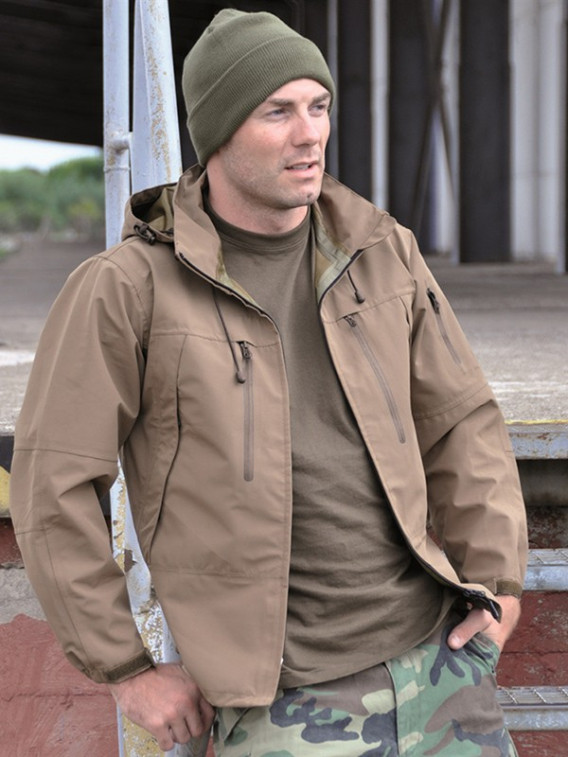 Veste PCU Softshell coyote - Surplus militaire