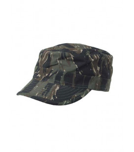 Casquette militaire camouflage Tiger band US BDU Ripstop