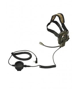 Casque micro mono-oreille Alan type Navy Seals - Surplus militaire