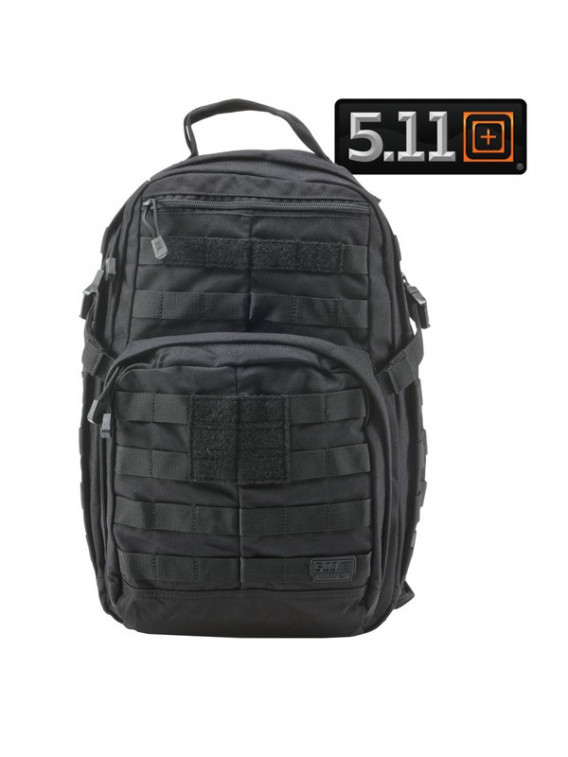Sac à dos Rush 12 Tactical 5.11 Noir 20L - Surplus militaire