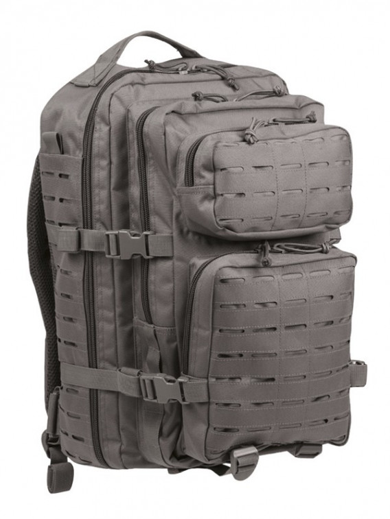 Sac à dos US pack laser cut 36L Urban gris - Surplus militaire
