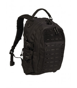 Sac à dos Mission Pack Laser cut 20L noir - Surplus militaire