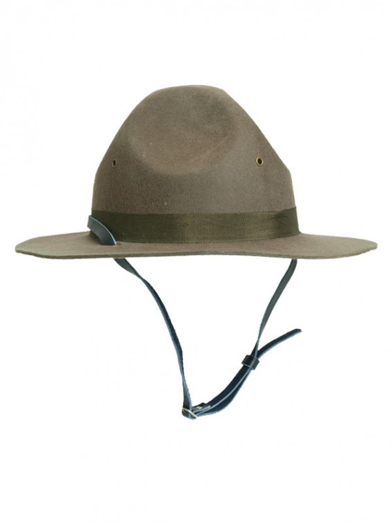 Chapeau US instructeur - scout kaki - Surplus militaire