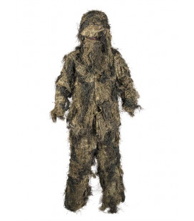 Tenue Ghillie Suit Anti Feu camouflage Woodland