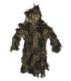 Parka Ghillie Suit Anti Feu Woodland