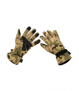 Gants Softshell Operation Camou