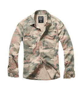 Chemise Brandit Josh Light Woodland - Surplus militaire