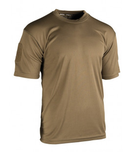 T-shirt Tactique QUICKDRY Dark Coyote
