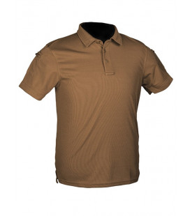 Polo Tactique QUICKDRY Dark Coyote